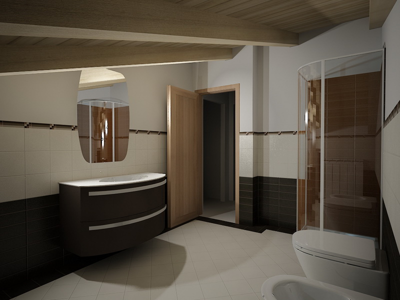 Interior design bagno kukua design