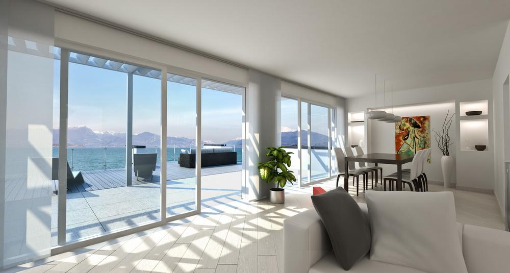 Attico con terrazza 3d kukua design for Design personalizzato